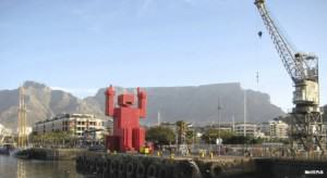 Table Mountain from Cape Town's Waterfront. Photo: Merritt Polk