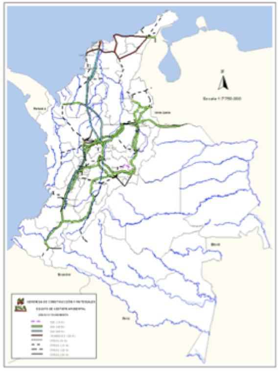 Energy network Source: ISA 2009