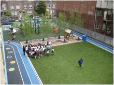 Plan for playground renovation at P.S. 261K in Brooklyn. Credit: Trust for Public Land