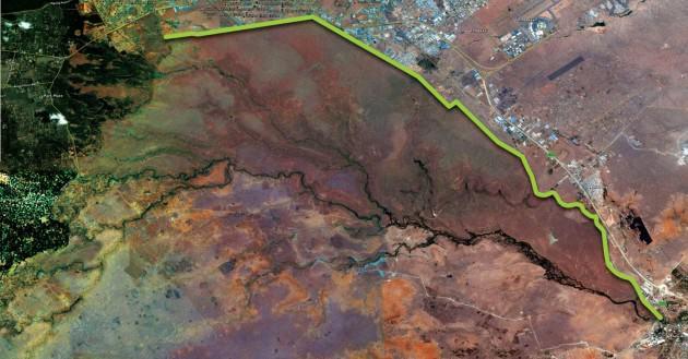 GreenLine MAP: Credit: Nairobi GreenLine , 2010