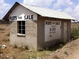 Plots for Sale, Kitengela, 2011. Photo: James Canonge