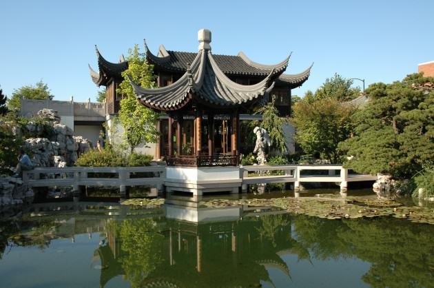 Chinese Gardens in Portland's Old Town. Photo: Mike Houck
