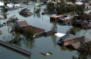 New Orleans during Hurricane Katrina, 30 August. Credit: Jocelyn Augustino