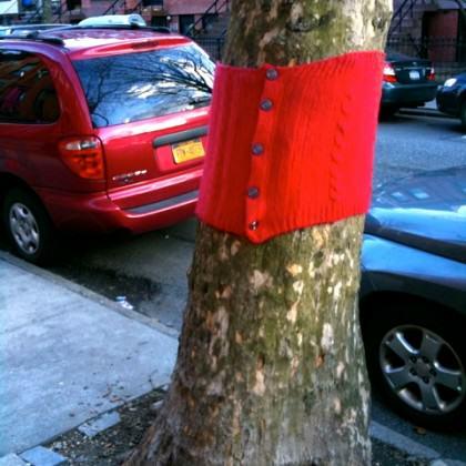 Tree sweater. Photo: Philip Silva