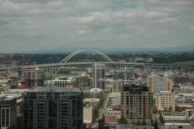 Portland's Fremont Bridge. Photo: Bob Sallinger