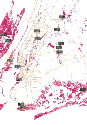Neighborhood location map. Image: Victoria Marshall