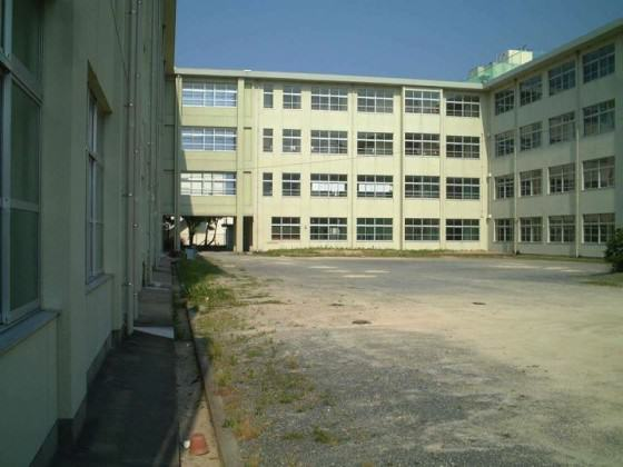 The planning site in the primary school (Ikiminami primary school at Fukuoka-city). Photo: K.Ito