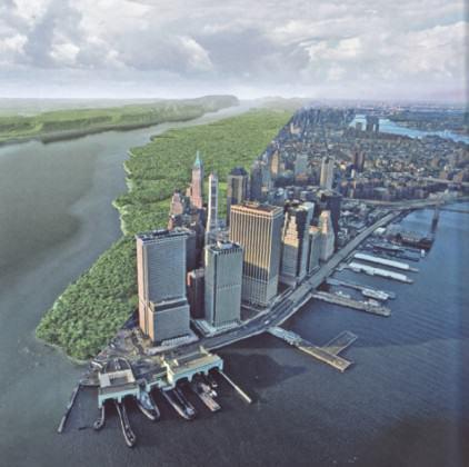 'Half-Park' Mannahatta|Manhattan, image Mark Boyer WCS