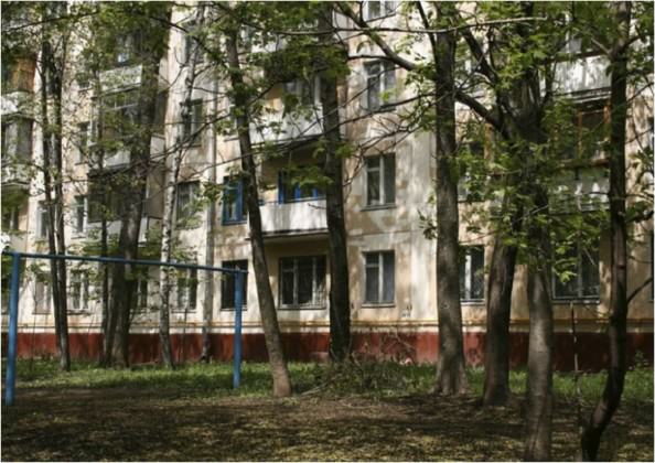 """One of the Soviet time """"microrayon""""(microdistrict) founded in late 1960's"""