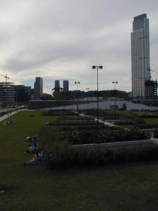 Micaela Bastidas Park in Puerto Madero, Buenos Aires. Photo: Ana Faggi