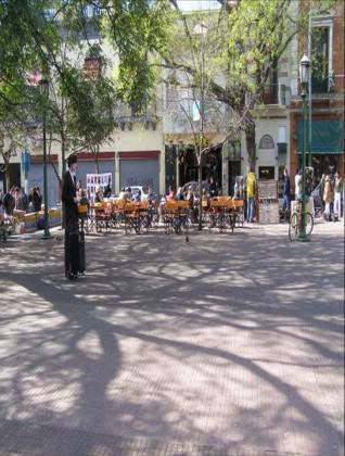 Plaza Dorrego, downtown Buenos Aires. Photo: Ana Faggi