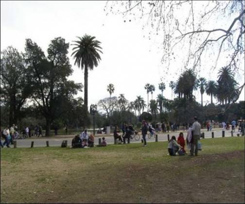 Tres de Febrero Park, Buenos Aires. Photo: Ana Faggi