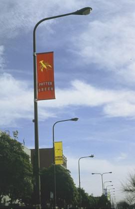 2. Flags on street,#346F9DD