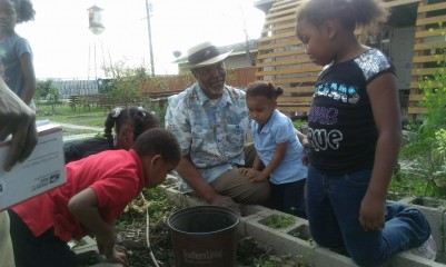 Gardening with Kids. Photo: Jenga Mwenga