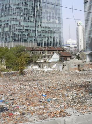 Urban Demolition in Shanghai