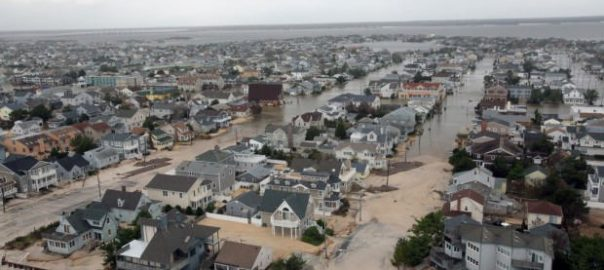 Aerial views of the damage caused by Hurricane Sandy to the New Jersey coast. U.S. Air Force photo by Master Sgt. Mark C. Olsen.