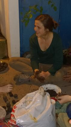 making seed bombs V