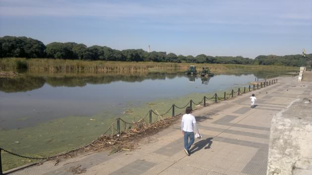 Buenos Aires waterfront as a favourite place for recreation