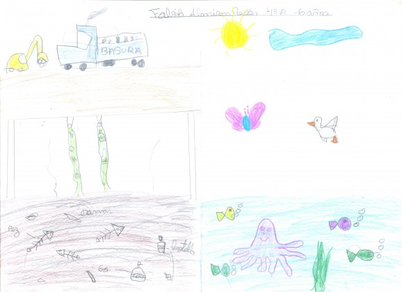 Fabio, ten year old, sees the river in the future as habitat for nature.