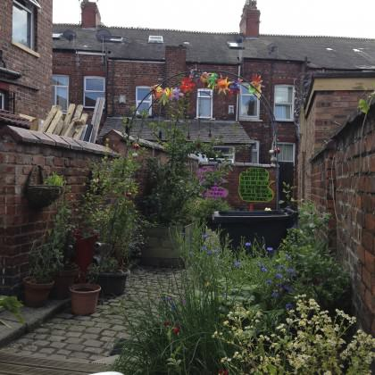 Rusholme alleyway. Photo: Janice Astbury