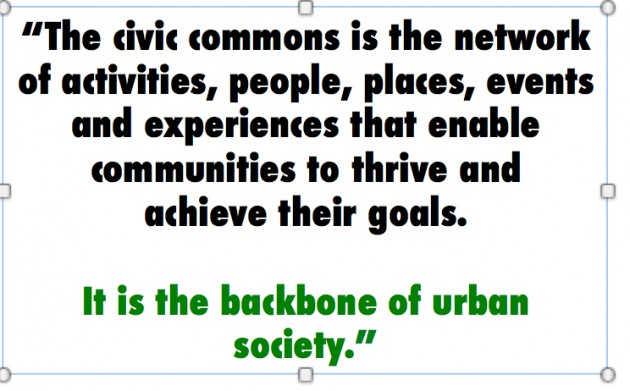 civic commons as network