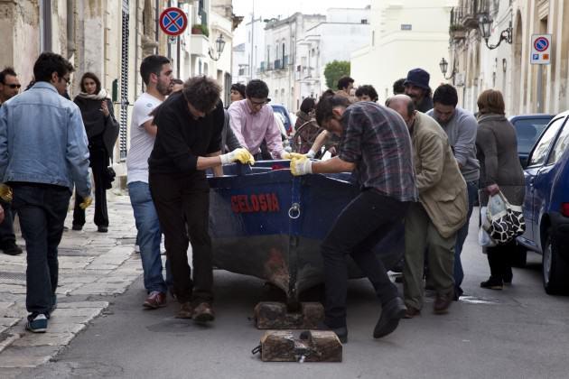 The celebration of the living (who reflect upon death). Apulia, Italy 2010. Photo: Emilio Fantin