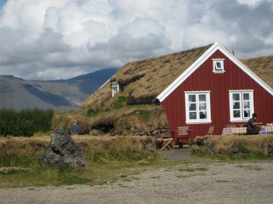 Traditional building in Iceland. Courtesy of Whitney Hopkins.