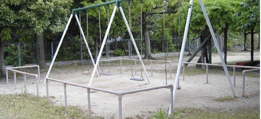 A typical children's playground in Japan