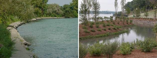 Hartig Elizabeth Park (Detroit)before-After