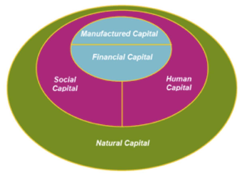 Five capitals Source: Inclusive Wealth Report (2014)