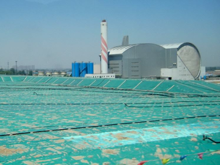 Waste incinerator in the outskirts of Beijing. Photo credit: Liwen Chen