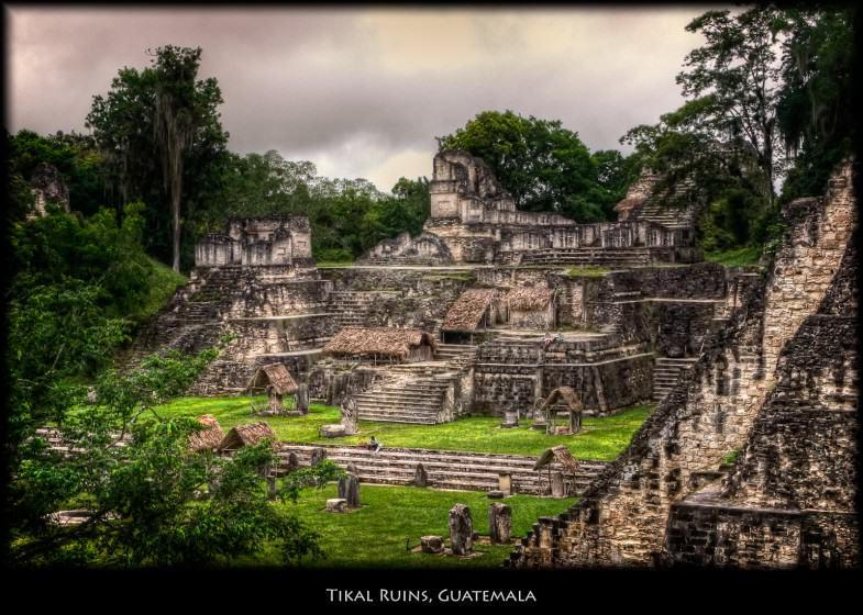 Tikal, Guatemala. Photo: Pedro Szekely