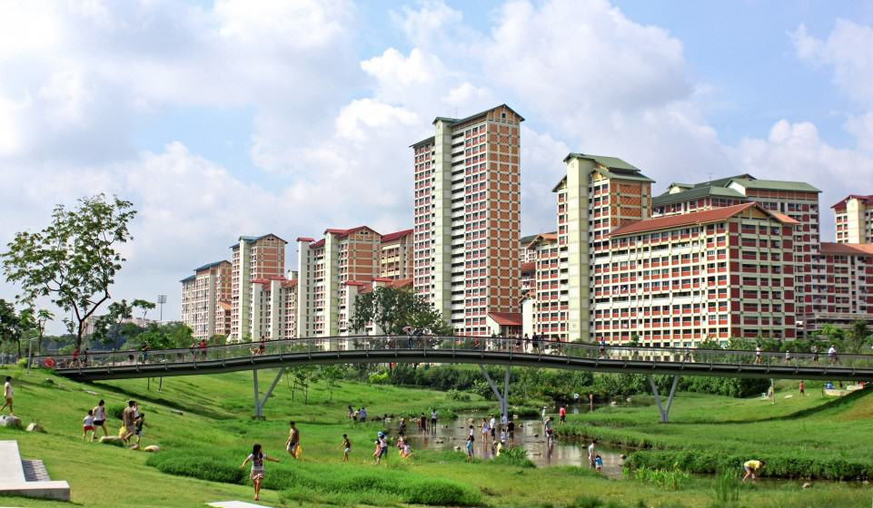 Bishan-Ang Mo Kio Park in Singapore. Photo: Atelier Dreiseitl