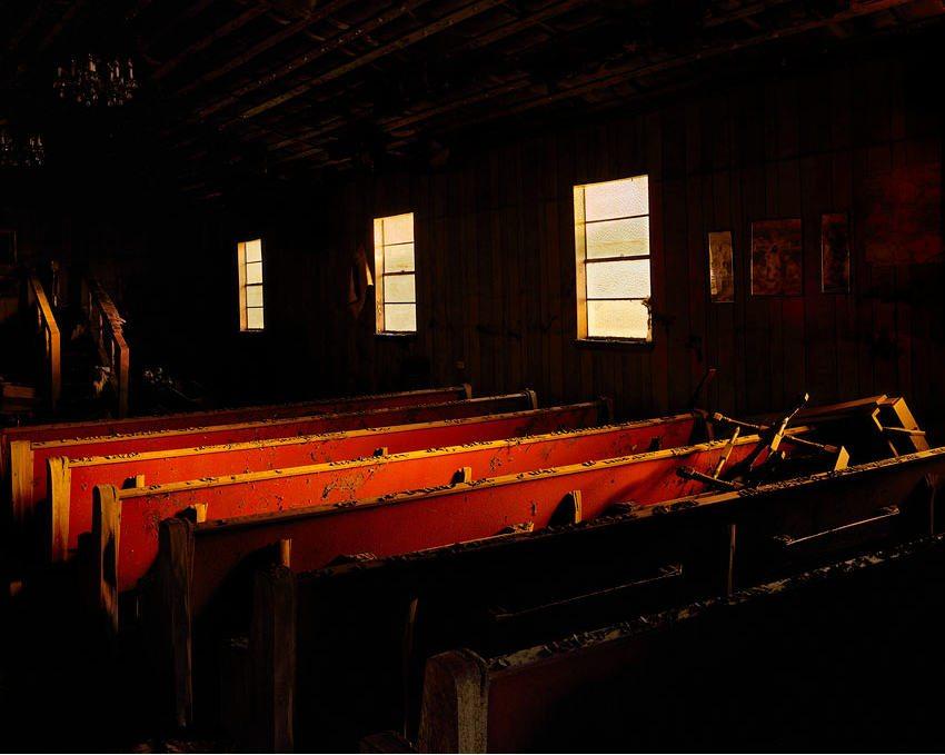 Remains of a business, St. Bernard Parish. Photo (copyright) Chris Jordan