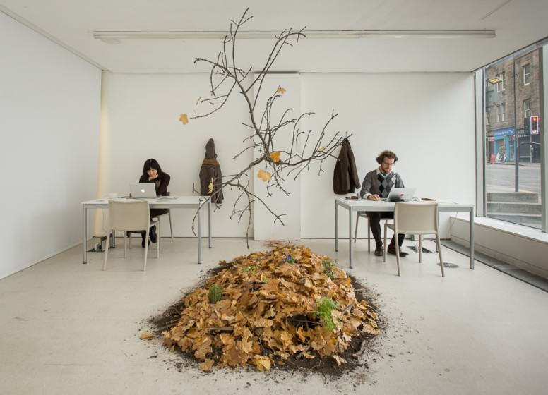 Centre for Endless Growth, installation image, Edinburgh, UK. Credit: Patrick M Lydon