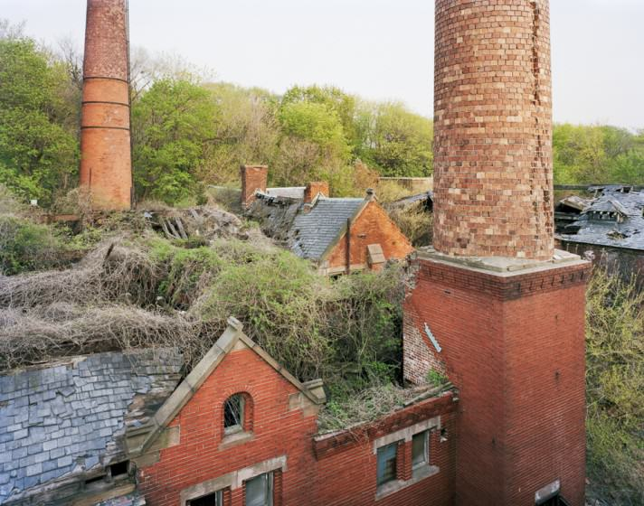 Boilerplant from Morgue Roof, North Brother Island, NY, NY. By (copyright) Christopher Payne