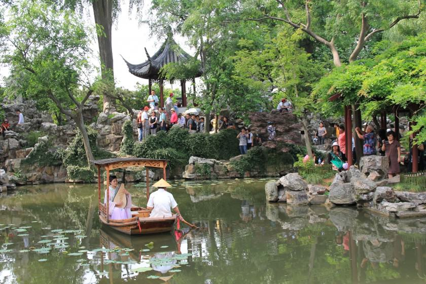 One of the traditional historic Suzhou gardens. Photo: Maria Ignatieva