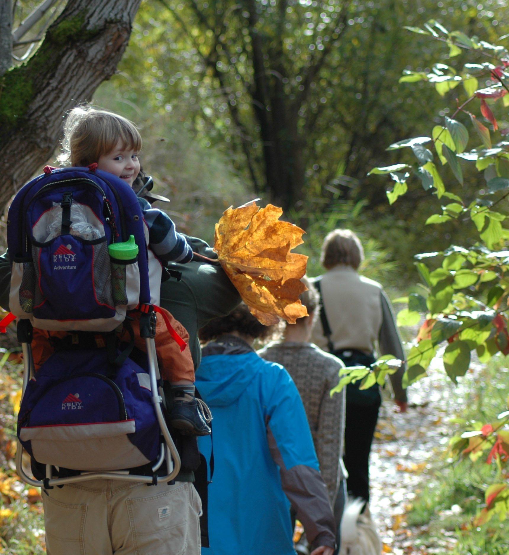 Young Naturalist Oaks Bottom 11 10 07 Photo Mike Houck