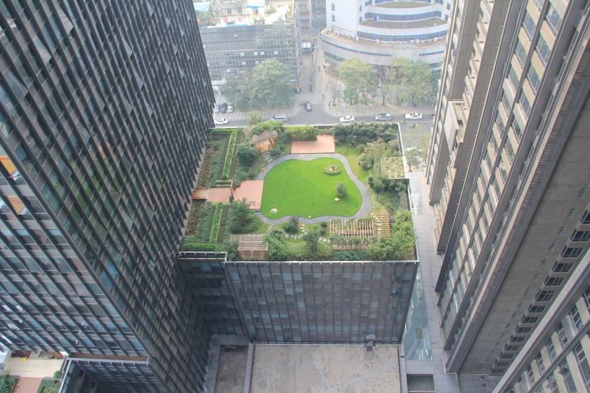Fuli Green Roof in the City of Chengdu