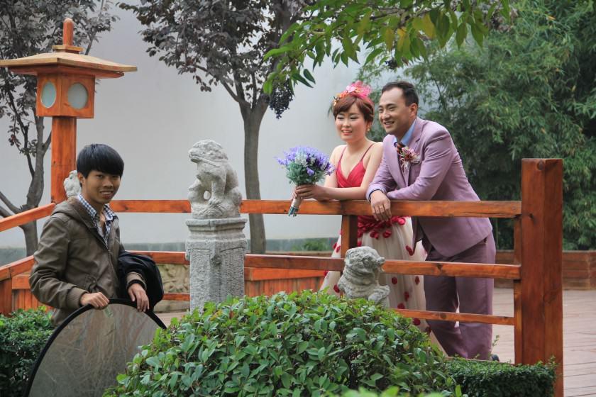 Qujiang Heritage Park in Xi'an