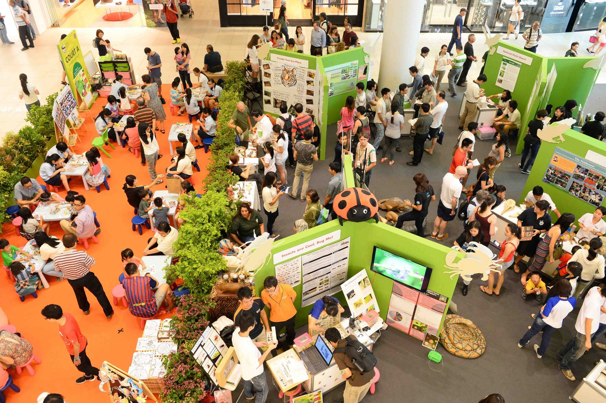community in nature rdquo reconnecting singapore s urbanites festival of biodiversity