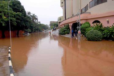 Kampala flood. Photo: Shuaib Lwasa.