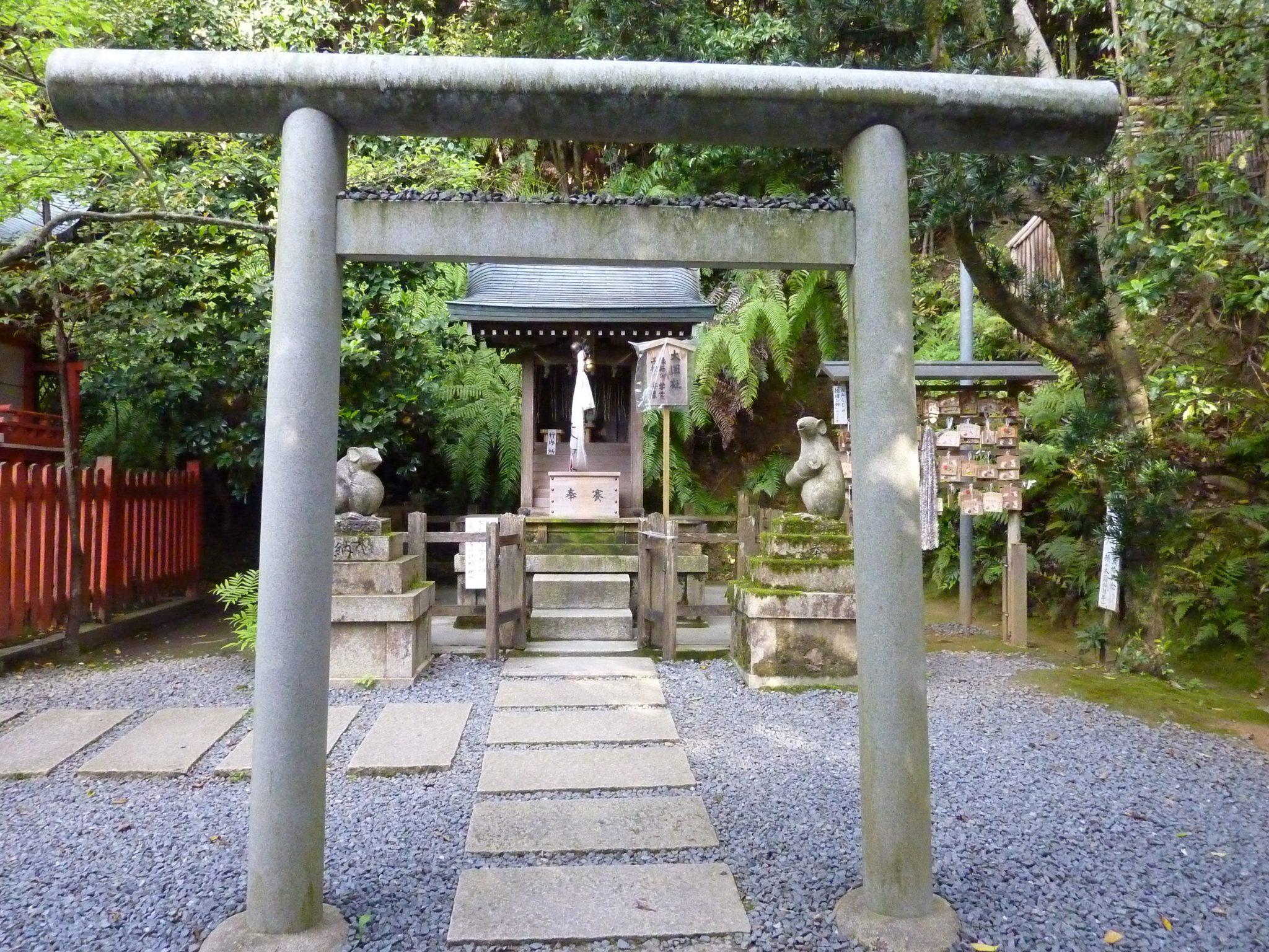 Shinto shrine. Photo: Cecilia Herrzog