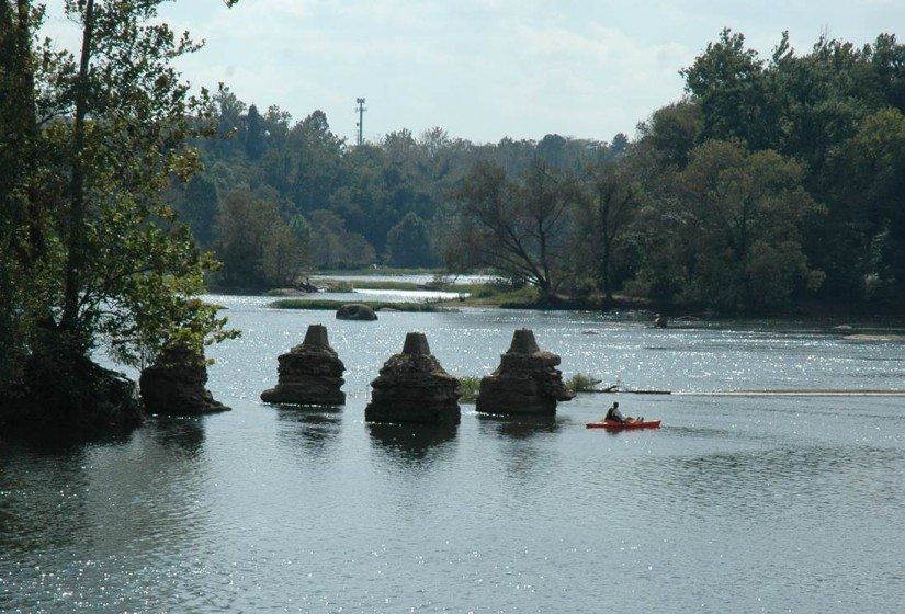 James River Kayaker