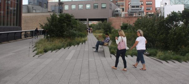 The High Line, in New York City. Photo: David Maddox