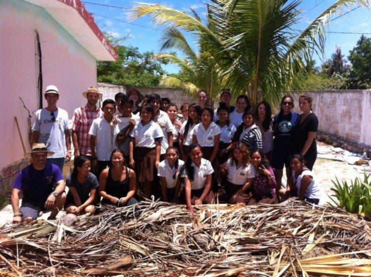 IG Coordinator Cedric van Riel leads an IG student team in Madagascar.