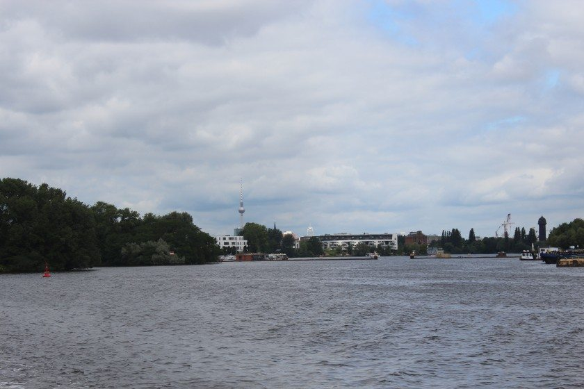 Langer Tag der Stadtnatur - Berlin panorama from boat