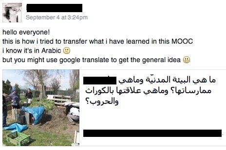 MOOC FB discussion