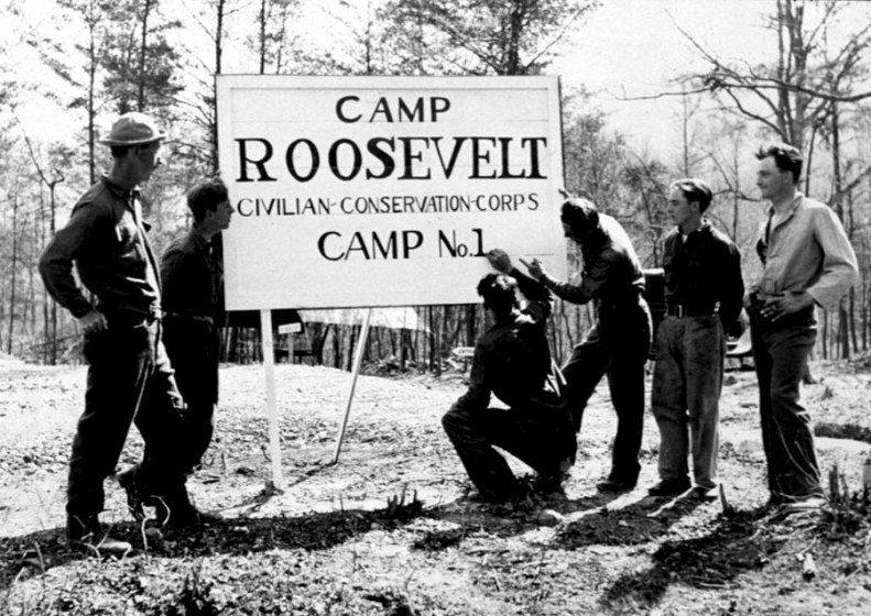 CCC - Camp Roosevelt