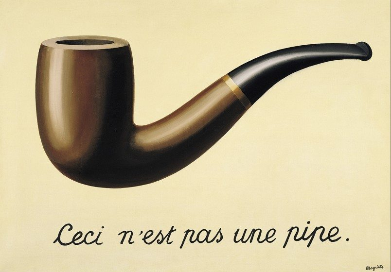 This is not a pipe (Magritte)